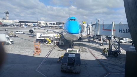"""When I originally posted this photo, I commented that the gate agent had a magnificent French accent, which gathered the comment """"I see you met Pierre"""""""