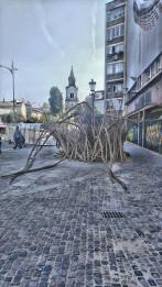 Street art at Piata Roma